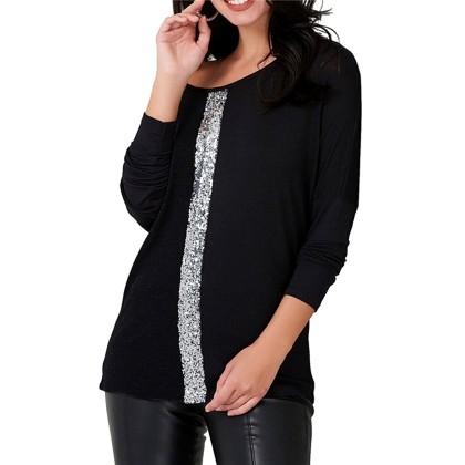 Μαύρη μπλούζα Chiccy
