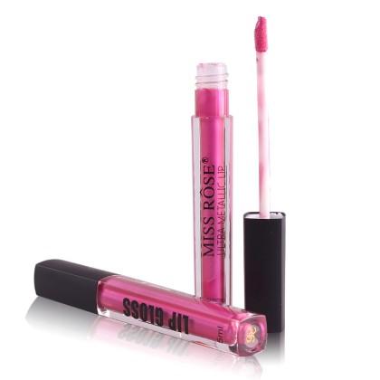 MISS ROSE Μεταλλικό Lip Gloss (11240) 26