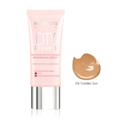 Bourjois City Radiance Skin Protecting Foundation 30ml (10310) G