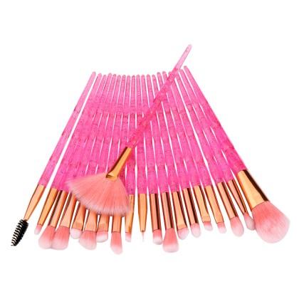 20 Πινέλα Μακιγιάζ Diamond MAANGE (1103601) Ροζ