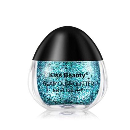 Kiss Beauty Υγρό Glitter σε Βαζάκι με Σχήμα Αυγού (11313) 05