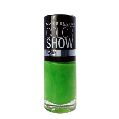 Maybelline Color Show Neons Nail Polish 7ml (10200) 190 Green Zi