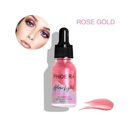 Glow Lights σταγόνες Highlighter (10605) Rose Gold