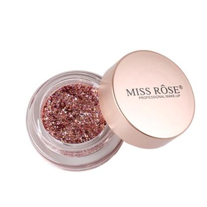 MISS ROSE Κρεμώδης Σκιά με Glitter (11188) #Μ4