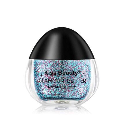 Kiss Beauty Υγρό Glitter σε Βαζάκι με Σχήμα Αυγού (11313) 11