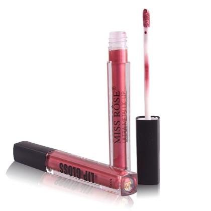 MISS ROSE Μεταλλικό Lip Gloss (11240) 27
