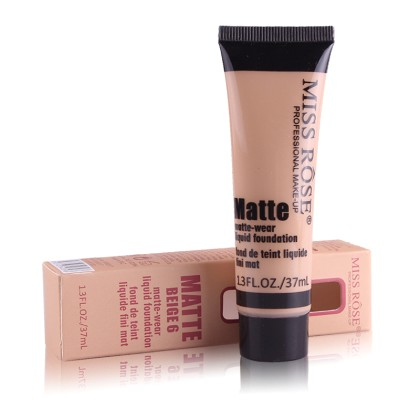 MISS ROSE Υγρό Ματ Foundation (11276) #Beige 6