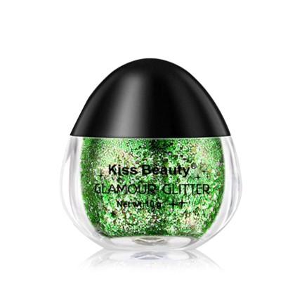 Kiss Beauty Υγρό Glitter σε Βαζάκι με Σχήμα Αυγού (11313) 07