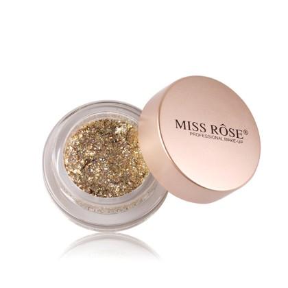 MISS ROSE Κρεμώδης Σκιά με Glitter (11188) #Μ1
