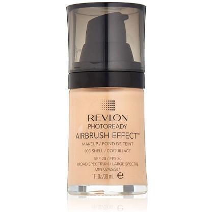 Revlon Photoready Airbrush Effect SPF20 Makeup 003 Shell 30ml
