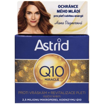Astrid Q10 Miracle Night Skin Cream 50ml (Wrinkles)