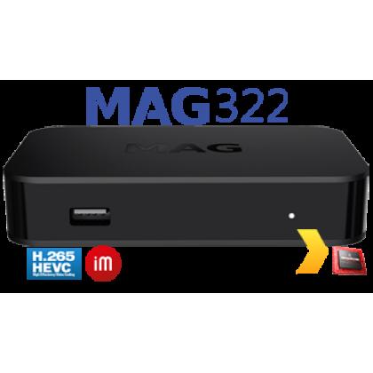Infomir Infomir MAG 322w1 IPTV SET-TOP BOX HEVC