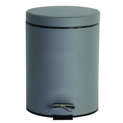 Κάδος απορριμμάτων CLASSIC MAT GREY 02-3753 (5L), ESTIA
