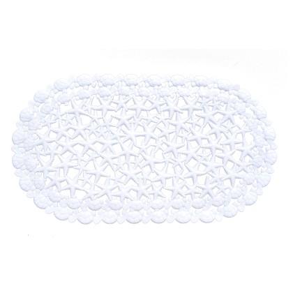 Ταπέτο αντιολισθητικό μπανιέρας WHITE 02-4545 (69X39), ESTIA