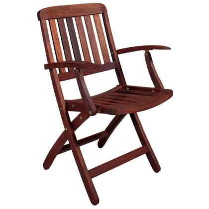 Πολυθρόνα ξύλινη (83Χ61Χ52) PEGU, LIANOS