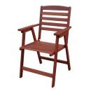 Πολυθρόνα ξύλινη (83Χ60Χ60) C4040ENR, LIANOS