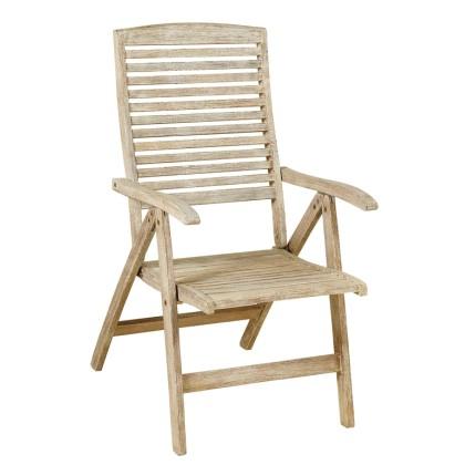Πολυθρόνα ξύλινη ψηλής πλάτης (108Χ58Χ73) GET-5-S, LIANOS