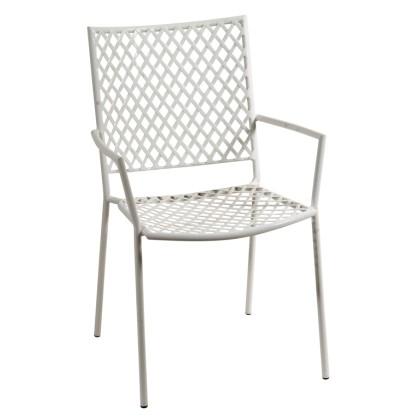 Πολυθρόνα κήπου μεταλλική (89Χ57Χ62) 165451, LIANOS