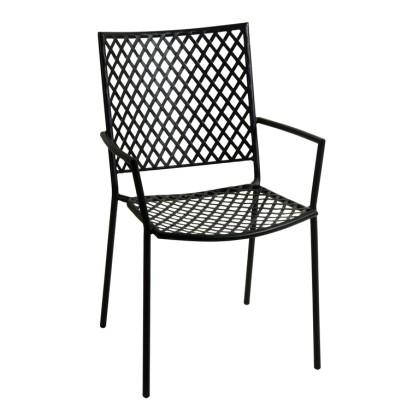 Πολυθρόνα κήπου μεταλλική (89Χ57Χ62) 165452, LIANOS