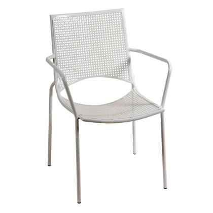 Πολυθρόνα κήπου μεταλλική (86Χ57Χ61) 165454, LIANOS