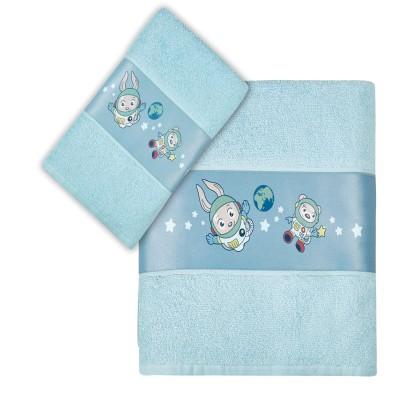 Σετ πετσέτες παιδικές 2 τεμ. ROCKET,  KENTIA