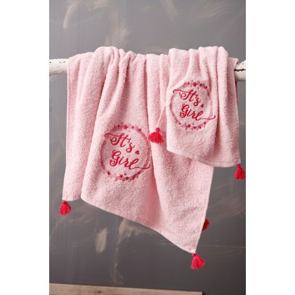 Σετ πετσέτες βρεφικές 2 τεμ. NINA, PALAMAIKI