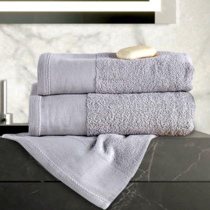 Σετ πετσέτες 3 τεμ. ISABELLA SILVER, SB HOME