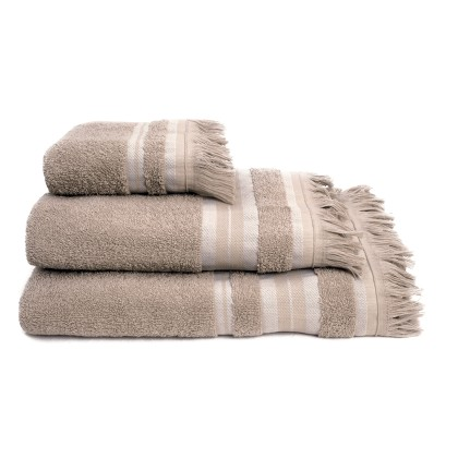 Σετ πετσέτες 3 τεμ. YOGA BEIGE, MELINEN
