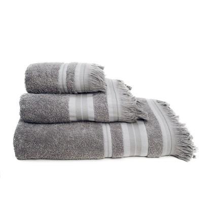 Σετ πετσέτες 3 τεμ. YOGA GREY, MELINEN