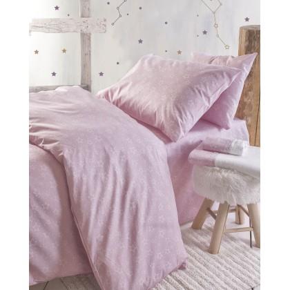 Σετ μαξιλαροθήκες παιδικές (50X70) BRIGHT PINK, RYTHMOS HOME