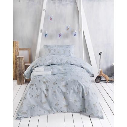 Σετ μαξιλαροθήκες παιδικές (50X70) LAND CIEL, RYTHMOS HOME