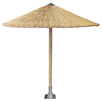 Ομπρέλα ψάθινη παραλίας (Ø250) ZEUS, AVANT GARDE