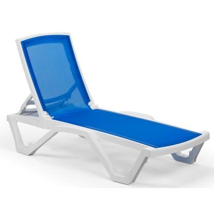 Ξαπλώστρα (74X186X28) MARE WHITE/BLUE, AVANT GARDE