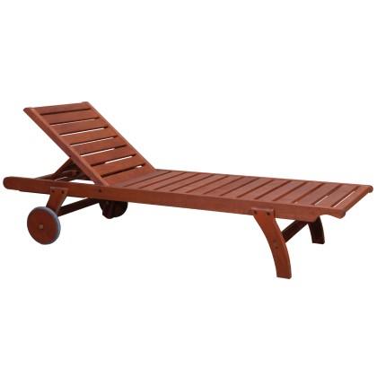 Ξαπλώστρα ξύλινη (198X66X36) ILLY CHERRY, AVANT GARDE