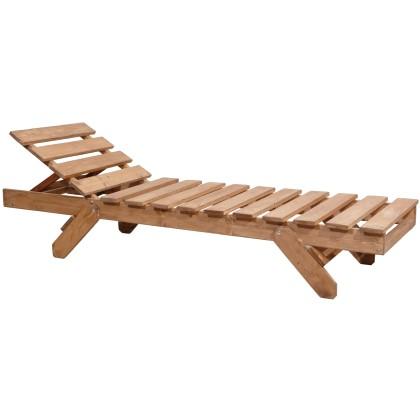 Ξαπλώστρα ξύλινη (195X60X34) AVG253, AVANT GARDE