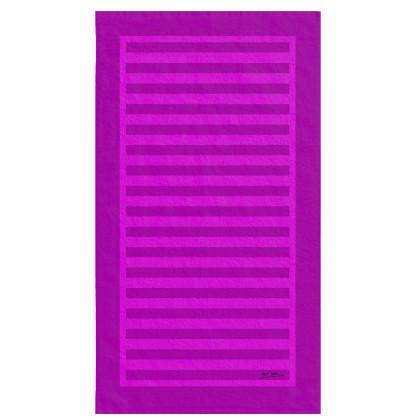 Πετσέτα θαλάσσης (90Χ160) SUN PINK, MAKIS TSELIOS