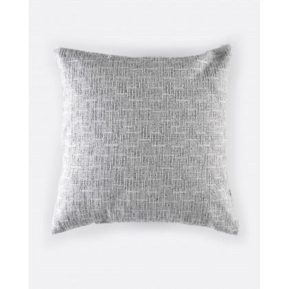 Διακοσμητική μαξιλαροθήκη (40Χ40) DORSET GREY, RYTHMOS HOME