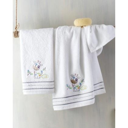 Σετ βρεφικές πετσέτες 2 τεμ. DODO, RYTHMOS HOME