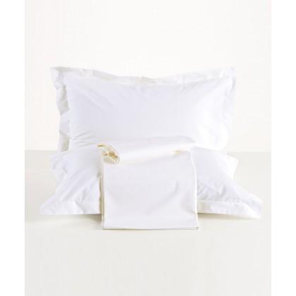 Σεντόνι με λάστιχο KING SIZE TRUE COLOURS 00, ΚΕΝΤΙΑ (Λευκό, 180