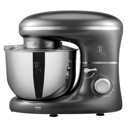 Berlinger Haus Κουζινομηχανή - Μίξερ Γκρι 1300W BH-9115