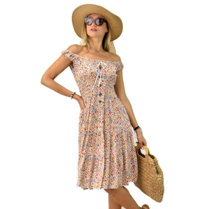 Γυναικείο φλοράλ φόρεμα