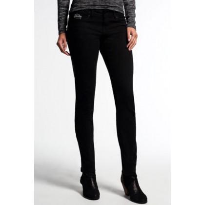 Superdry μαύρο γυναικείο παντελόνι