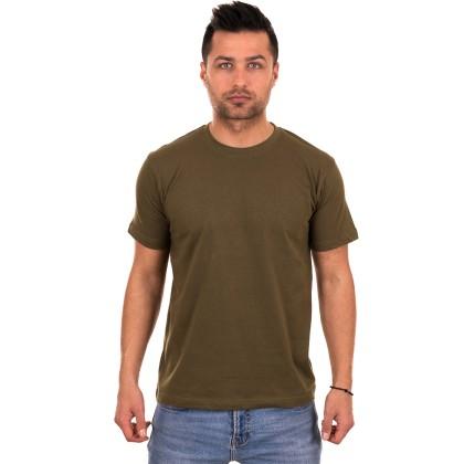 Χακί ανδρικό T-shirt